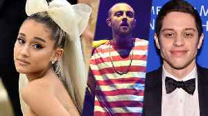 News video: Ariana Grande MOVES On With New Man After Mac Miller DUI!