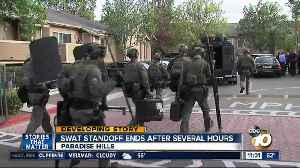 News video: SWAT standoff ends after hours