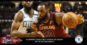News video: Is LeBron's legacy best saved if he doesn't make this year's NBA Finals?