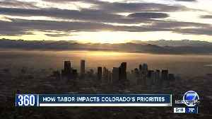 News video: Colorado's TABOR amendment getting fresh scrutiny amid funding discussions, proposed ballot measures