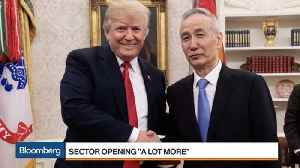 News video: Trump's China Trade Truce Being Met With Divided Opinions