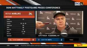News video: Don Mattingly on shutout loss: We couldn't break through