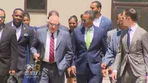 News video: Former Baltimore Police Commissioner Appears In Court, No Longer Allowed To Carry