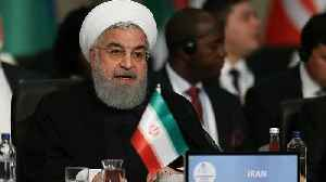 News video: Iran condemns US threats of 'strongest sanctions'