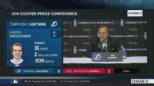 News video: Jon Cooper critical of Lightning's dearth of shots in Game 6