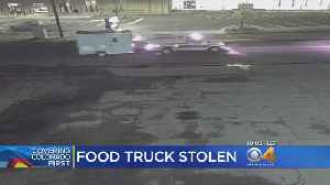 News video: Woman's Food Truck Stolen After She Received Threatening Messages