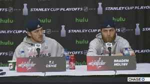 News video: T.J. Oshie, Braden Holtby on Capitals win over Lightning in Game 6