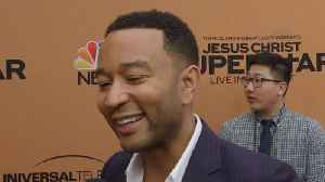 News video: John Legend Reveals Musical Meaning Behind Newborn Son Miles' Name (Exclusive)