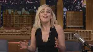 News video: Emilia Clarke Reveals How Much More 'Game of Thrones' Is Left to Film (Exclusive)