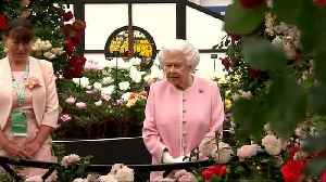 News video: Royal visit to Chelsea Flower show