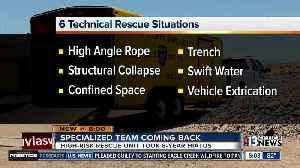 Clark County Fire Department brings back high-risk rescue unit