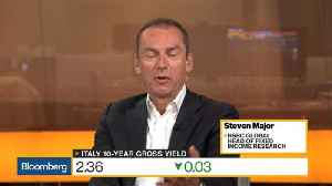 News video: HSBC's Major Says Debt Challenge in Italy Is on Sovereign Side