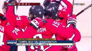 Washington Capitals rough up Tampa Bay Lightning 3-0 to force Game 7 in Eastern Conference Finals