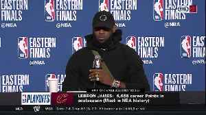 News video: LeBron reflects on passing Kareem Abdul-Jabbar for most playoff field goals made