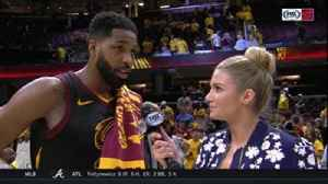 News video: Tristan Thompson got the ultimate sign of respect from LeBron James