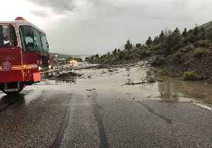 News video: Officials Clear Roadways Following Severe Mudslides in Nevada