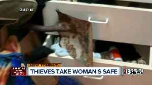 News video: Las Vegas thieves stealing bolted down safes
