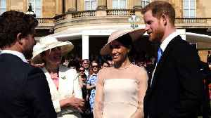News video: Meghan Markle and Prince Harry Attend First Engagement as Married Couple