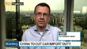 China to Cut Car Import Duty to 15% as Trade War Fears Recede