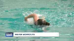 News video: Katie's Swimming Workout