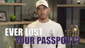 News video: Lewis Hamilton's Quick Fire Travel Questions