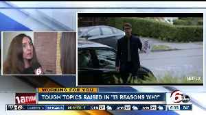 News video: '13 Reasons Why' Brings Up Need for Important Conversation