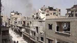 News video: Syrian Government Regains Control of Damascus