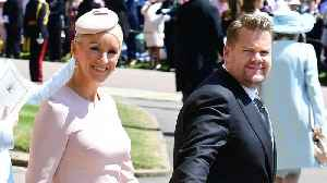 News video: James Corden Almost Sneezed During The Royal Wedding