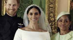 News video: Royal Wedding Photographer Shares Secrets From the Portrait Session
