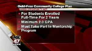 News video: Debt-free community college plan