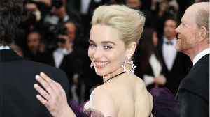 News video: Emilia Clarke Snuck Off During a 'Star Wars' Movie Screening To Watch The Royal Wedding