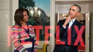 News video: Obamas to Produce for Netflix