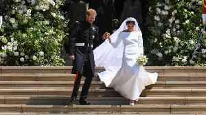 News video: Some People Think Meghan Markle's Wedding Dress Was Too Big For Her