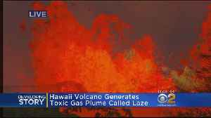 News video: Hawaii Volcano Generates Toxic Gas