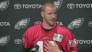 News video: 'I Don't View It As A Political Thing': Carson Wentz To Visit White House To Celebrate Eagles' Super Bowl Victory