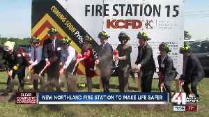 News video: Officials break ground at site of new Northland fire station