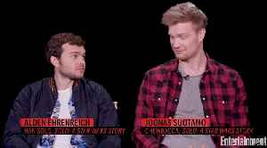 News video: 'Solo' Stars Open Up About Harrison Ford's Injury On Set
