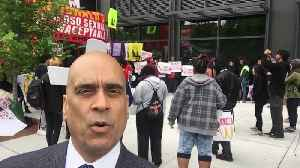 News video: Workers Gather at McDonald's Headquarters to Protest Against Sexual Harassment