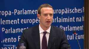 News video: Zuckerberg Apologizes to EU Lawmakers for Facebook's Privacy Missteps
