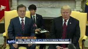 News video: President Trump meets with Moon Jae-in