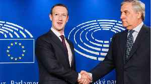 News video: Facebook's Zuckerberg To Be Grilled By EU Lawmakers For Data Leak