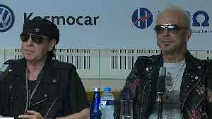 News video: Scorpions back for 'once in a lifetime' event
