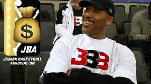 News video: LaVar Ball Charging HOW MUCH For Tickets to JBA League Games?!!