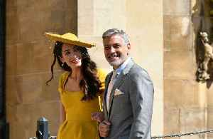 News video: George Clooney poured shots at royal wedding reception