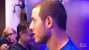 News video: Cubs' Anthony Rizzo on division outlook: 'We got a long ways to go'