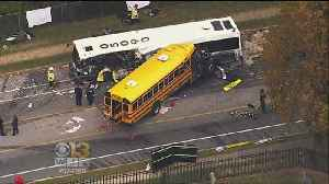 News video: NTSB: Deadly School Bus Crash Driver In Baltimore Unfit For Job