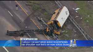 News video: NTSB Recommends Seat Belts On All New School Buses