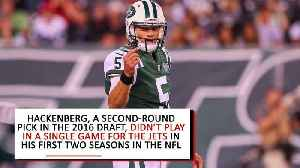 Jets Trade Former Second-Round Pick Christian Hackenberg to Raiders