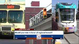 News video: County officials agree southeast Michigan needs transit system, but back different options