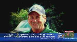 News video: Family's Lawsuit Against Chemical Companies For Father's Death Allowed To Proceed
